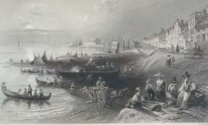 Port Of Montreal circa 1825